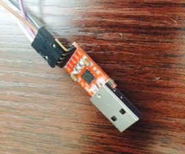 Mod a USB to TTL Serial Adapter (CP2102) to program ESP8266