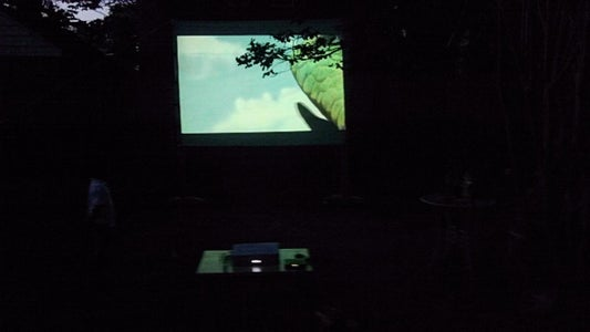 Testing With Projector