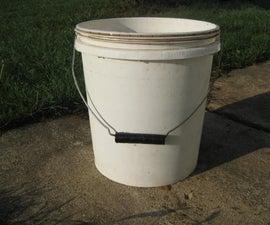 Heavy buckets need ergonomic handles