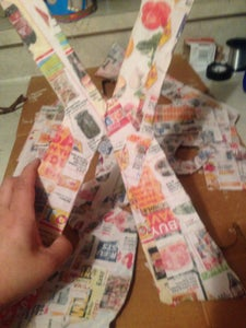 Cover in Your Paper Mache