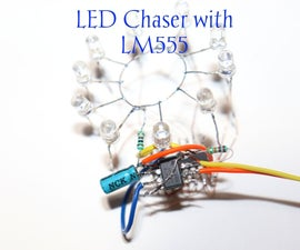 How to Make LED Chaser Using 4017 and LM555 IC