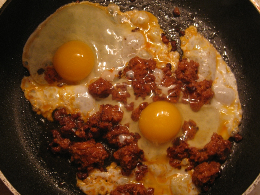Picture of How to Make an Egg & Chorizo Breakfast Burrito