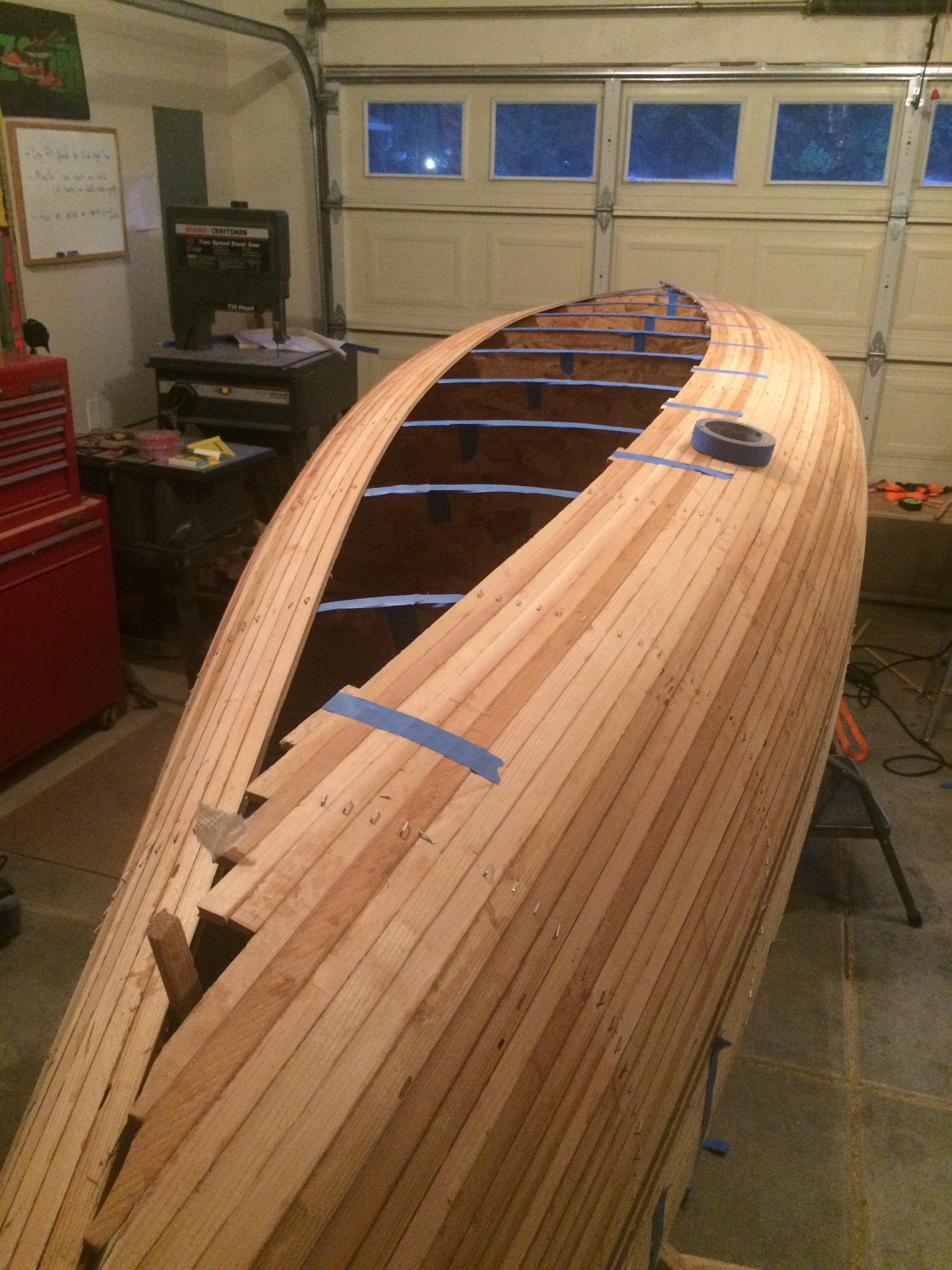 Picture of Building the Hull