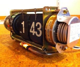 Cool Exposed Retro Flip Clock