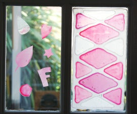 DIY Window Clings | How to Make Your Own Glass Decorations With PVA Glue! | Fun Children's Activity