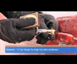 11 Car Hacks to Help Put the Win in Winter