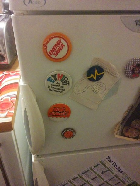 Picture of Convert Pin Badges to Fridge Magnets