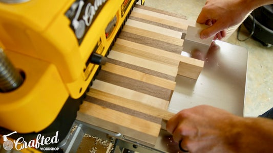 Flatten Cutting Board Blanks