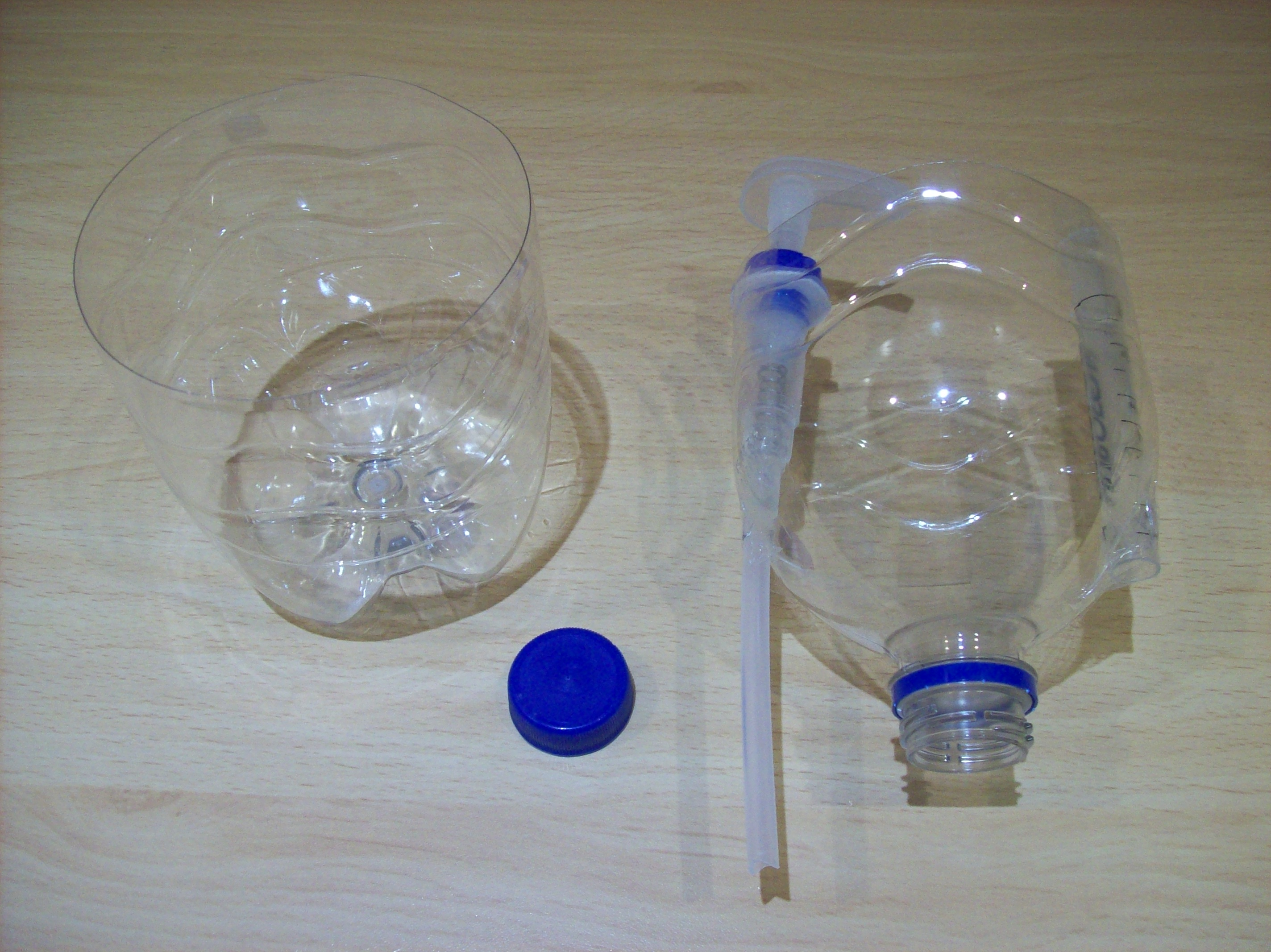 Picture of Affix the Pump and the Filling Tube