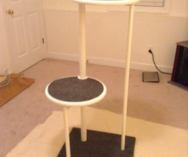 How to build A Two Level Cat Tree