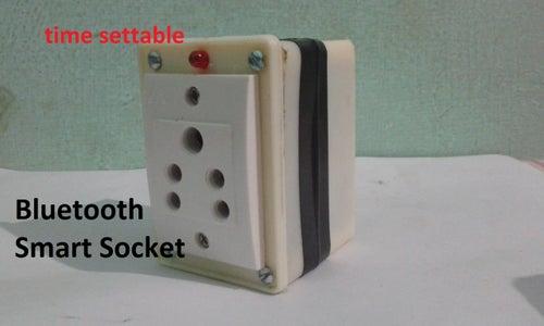 Bluetooth Smart Plug(time Settable)