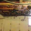 Best Way to Suspend Your Bicycle From an Unfinished Ceiling (maximum head clearance)