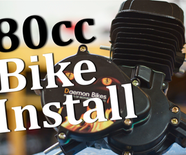 Building an 80cc motorized bike