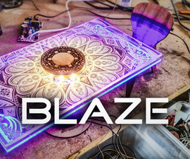 Blaze - Modern Table Top