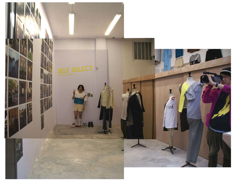 Picture of Public Test of the Space  _ SELF SELECT, Fashion-art-performance by Yoshinari NISHIO