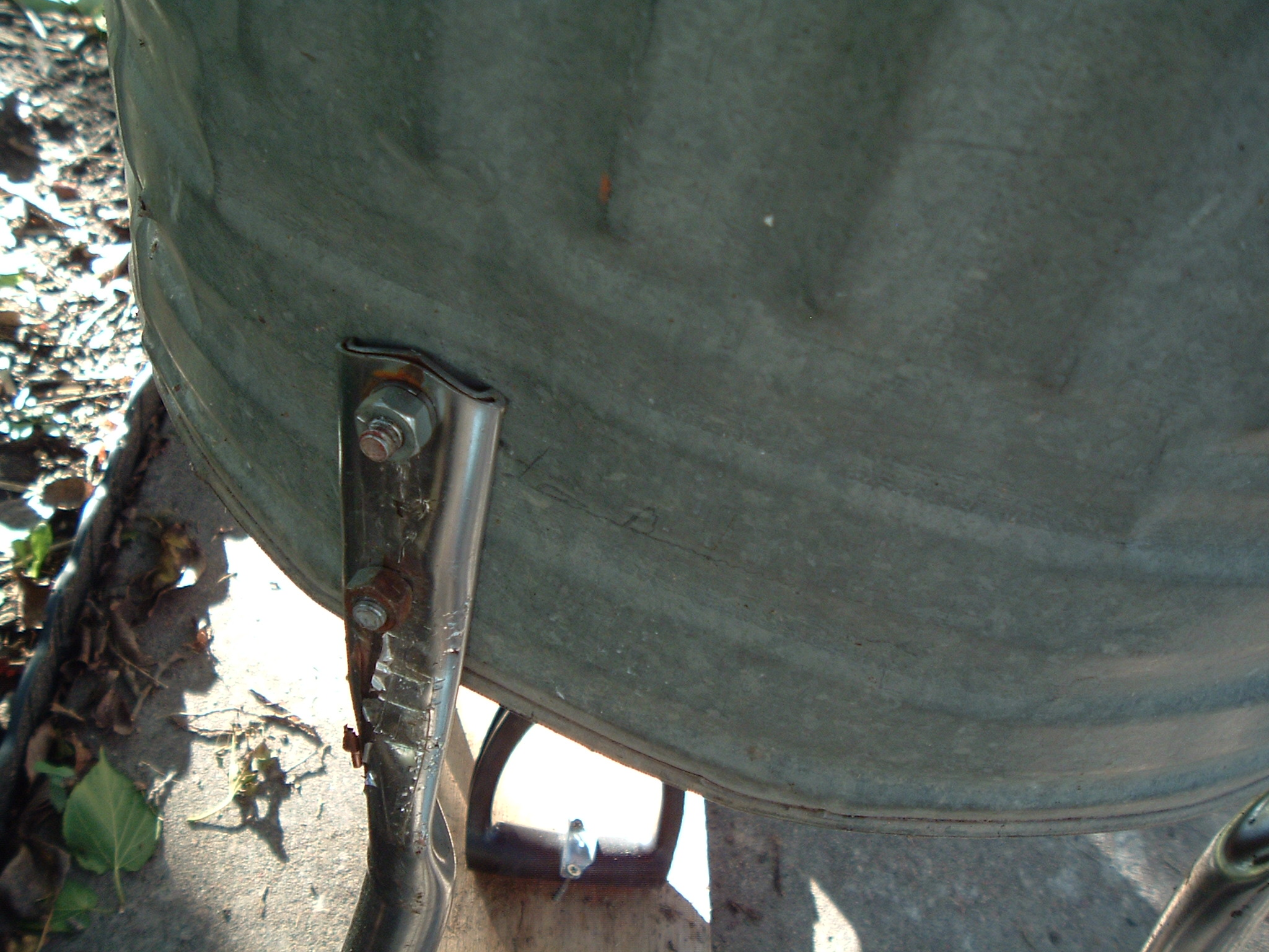 Picture of Make Legs and Motor Mount.