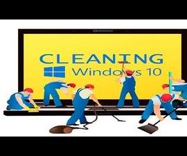 Clean Windows 10 Temporary Files!!