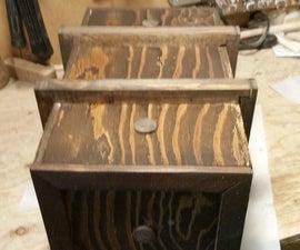 Locking Box With 2 Drawers