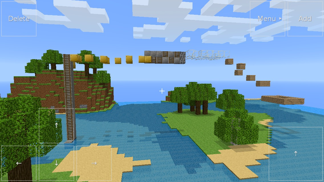 Picture of Minecraft Obstacle Course