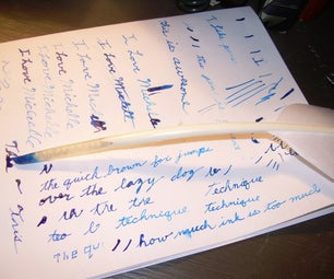 Make a Real Feather Writing Quill