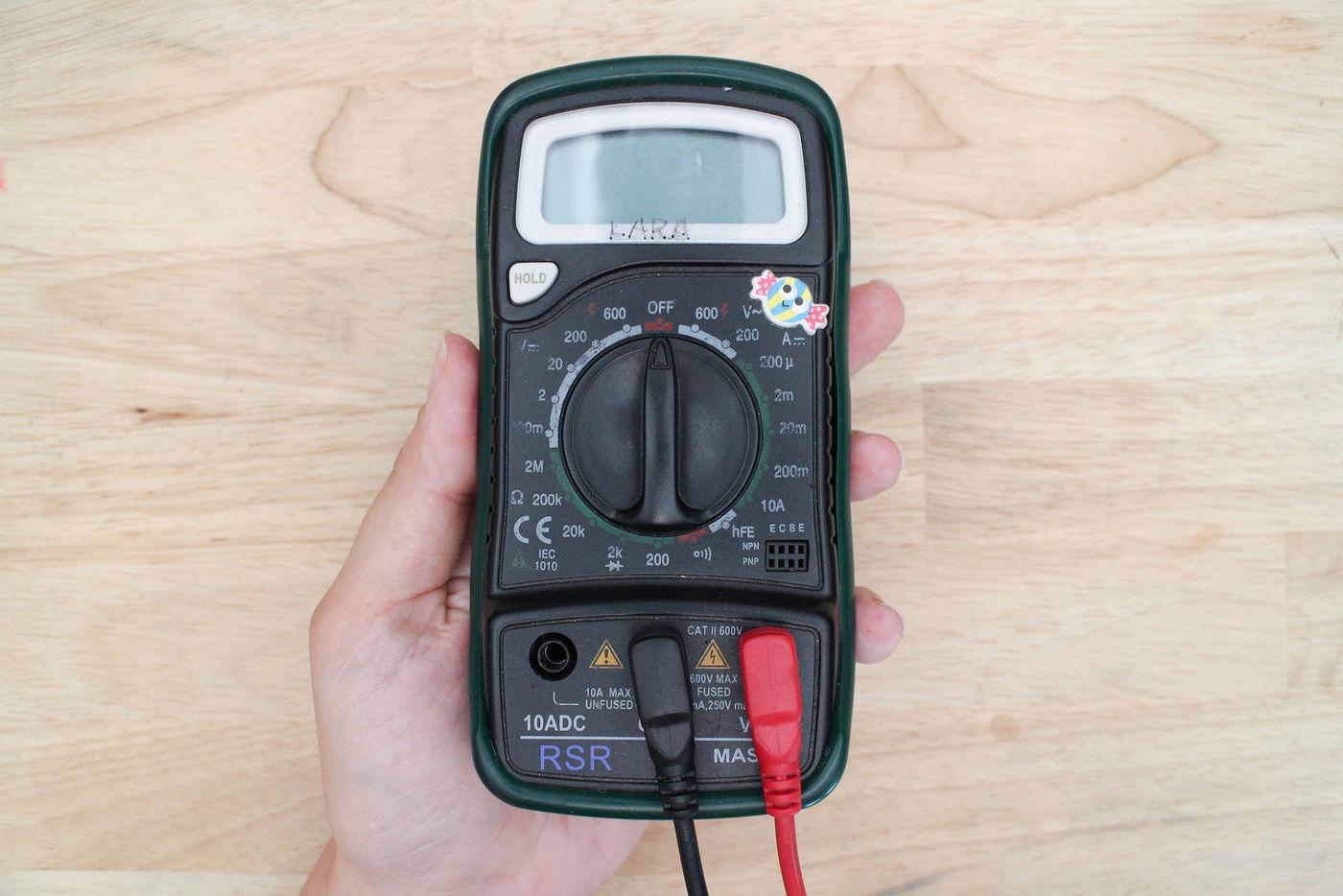 Using Your Multimeter