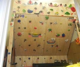 Freestanding Climbing Wall & Loft Bed