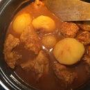 Roti, the Filling Not the Pancake (Oso Njang)