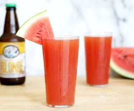 Homemade Watermelon Beer