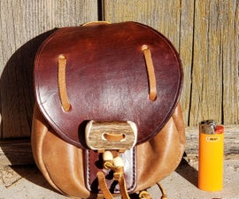 Handmade Leather Sporran/Possibles Bag
