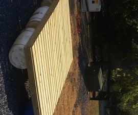 Barrel Raft (Soapy Schooner)