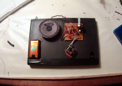 Light Theremin With Magnet Holder