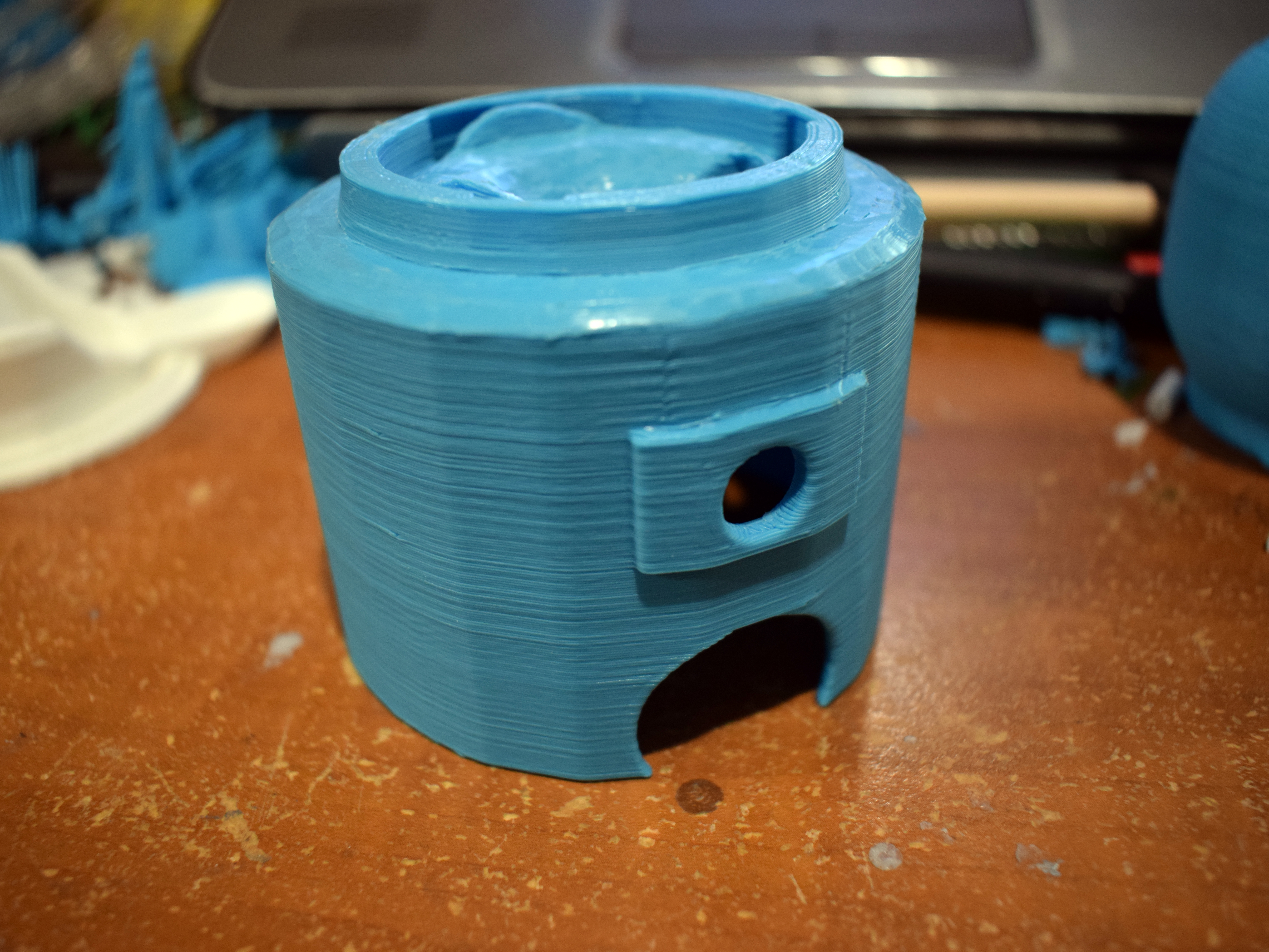Picture of Printing the Dispenser Body