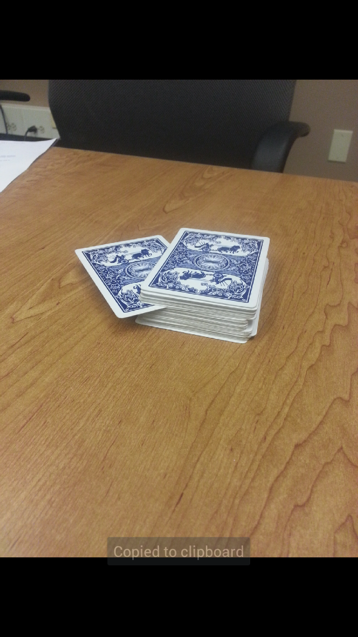 Picture of Placing the Cards