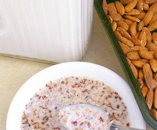 Easy Vegan Low-carb Homemade Breakfast Cereal