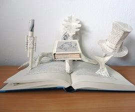 Book Sculpture: H.C. Andersen