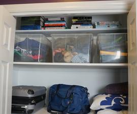 Install Built-in Closet Shelves