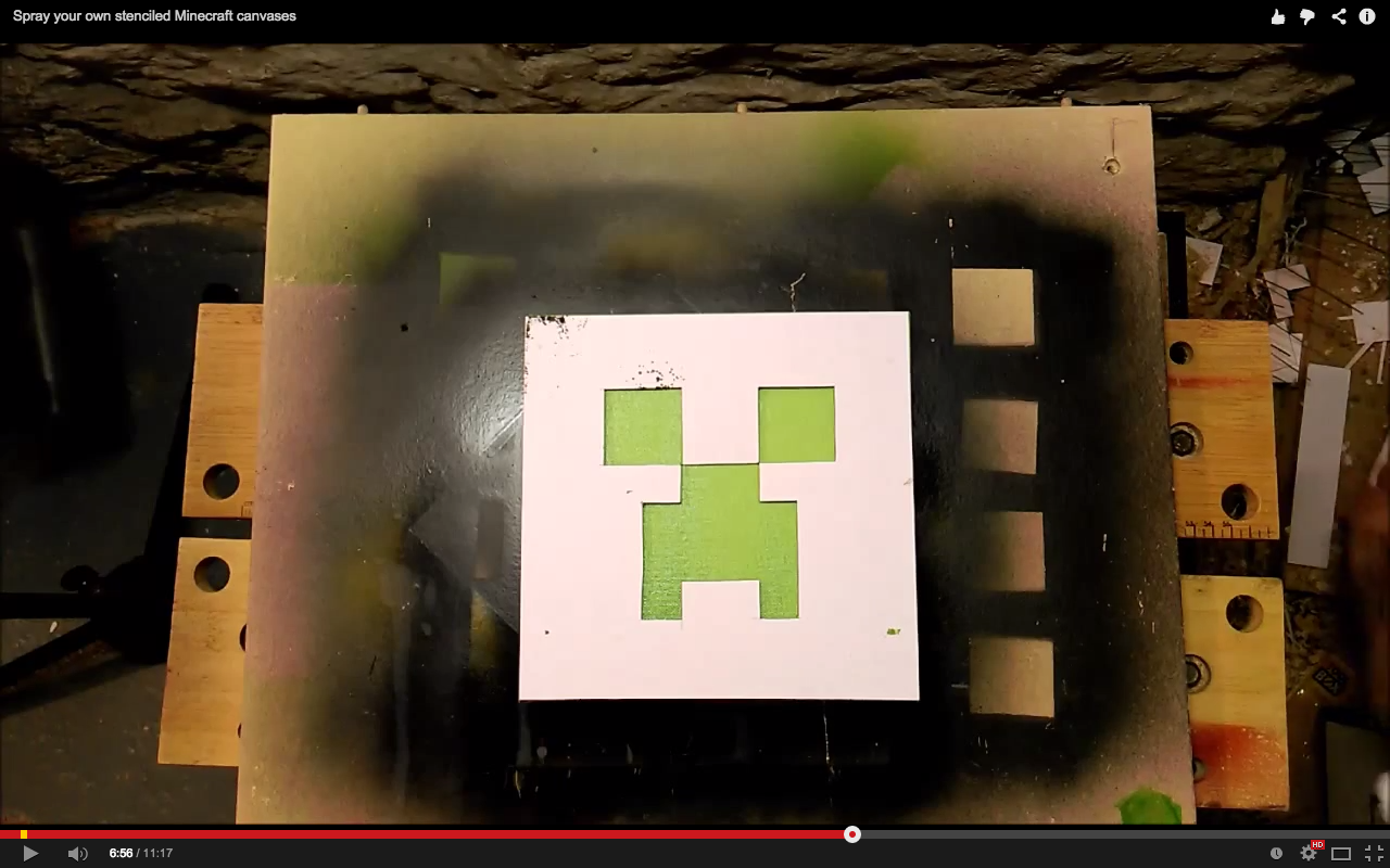 Picture of Spray Your Creeper/Enderman's Features!