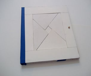 Paper Diamond Puzzle Sketchbook
