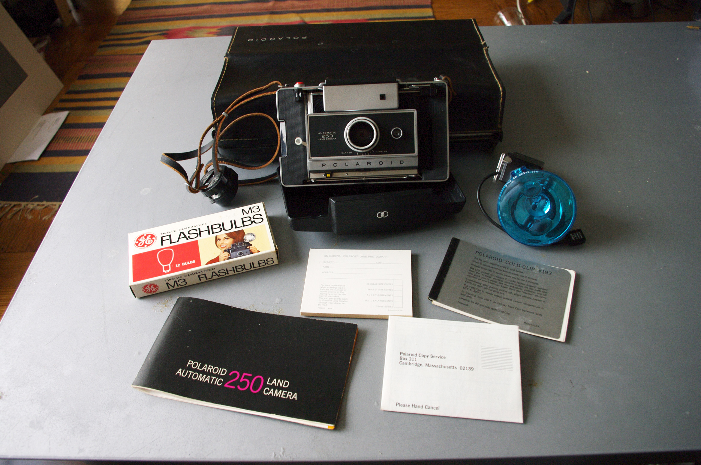 Picture of The Camera and Its Accessories