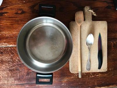 Tools + Ingredients