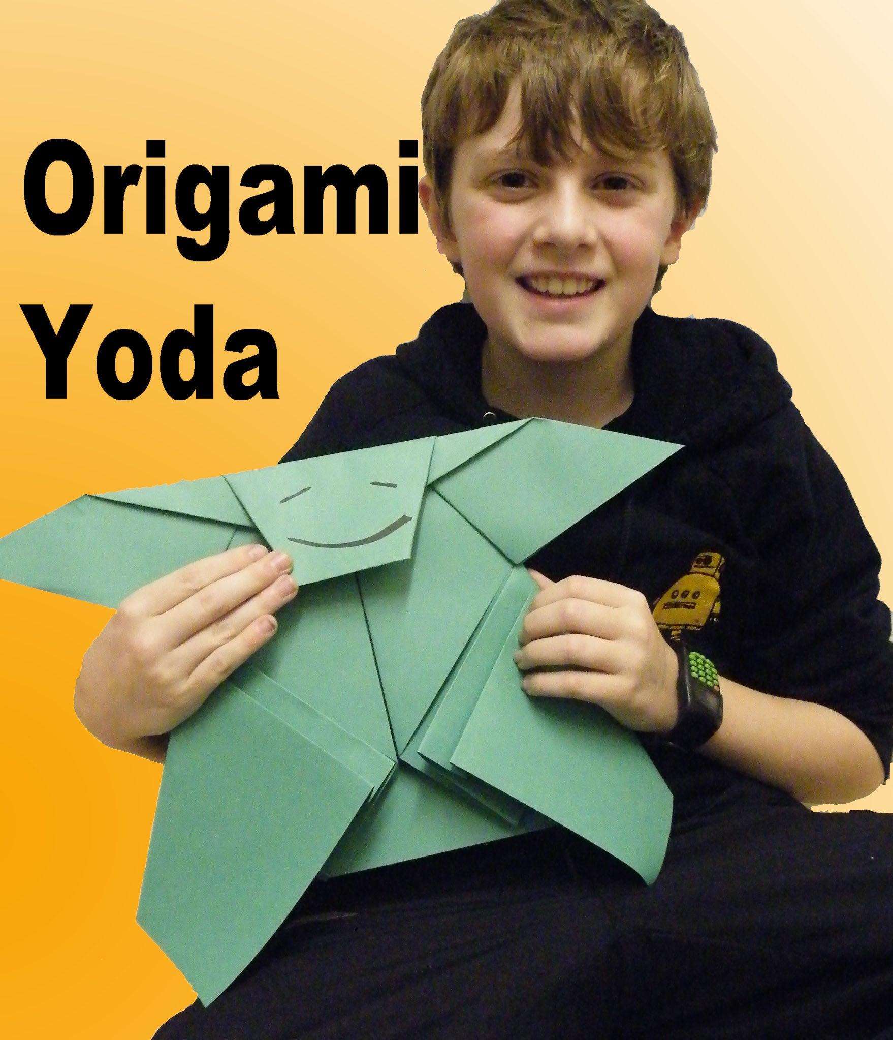 Pierce101 Cover Origami Yoda Instructions | Origami Yoda | 2046x1758