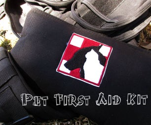 Pet First Aid Kit - Simple, Inexpensive, and Effective