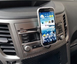 Car CD Slot Phone Mount