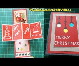 How to Make Pop Up Cards for Christmas