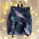DIY Amazing Galaxy Backpack (my Design)