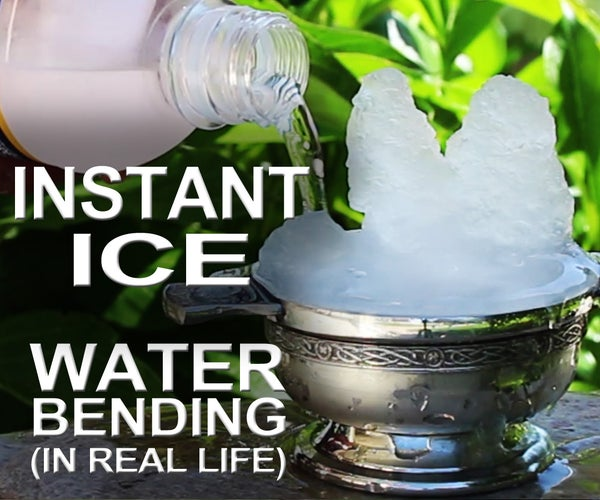 Instant Ice - How to Waterbend in Real Life