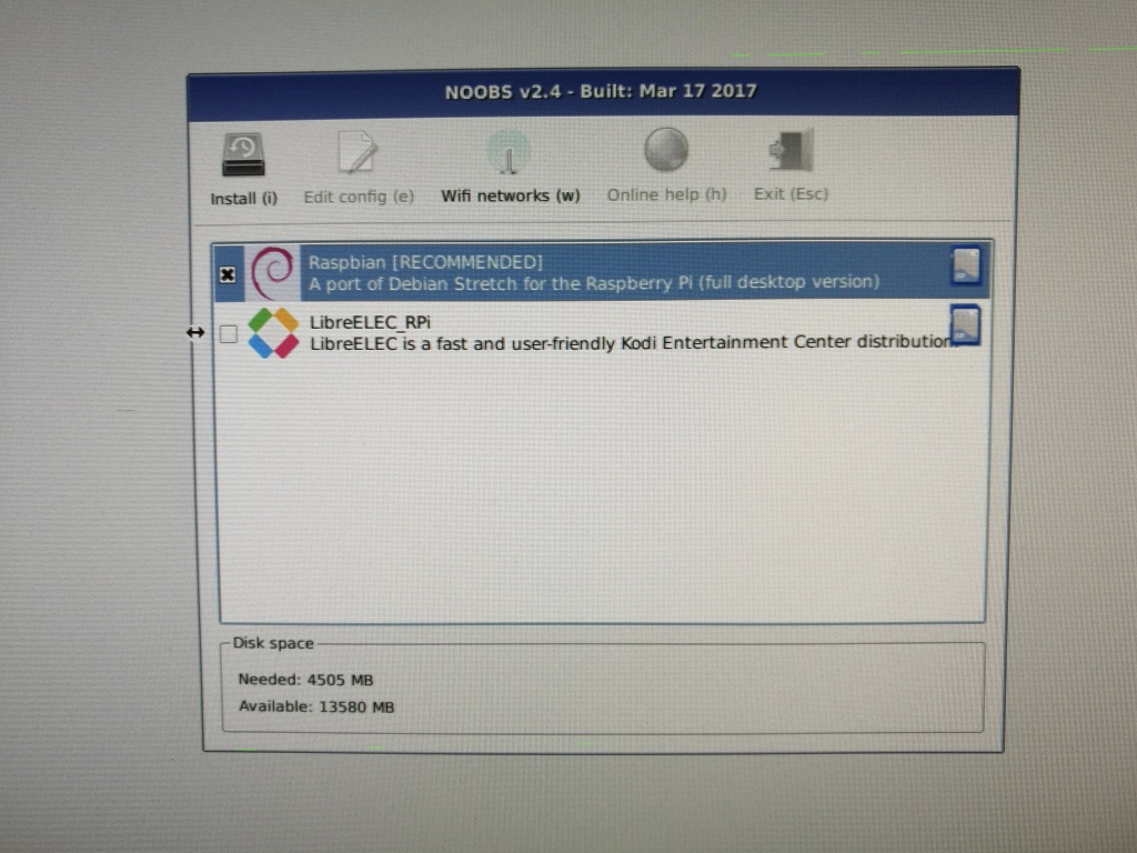 Picture of Installing Raspbian to the Raspberry Pi