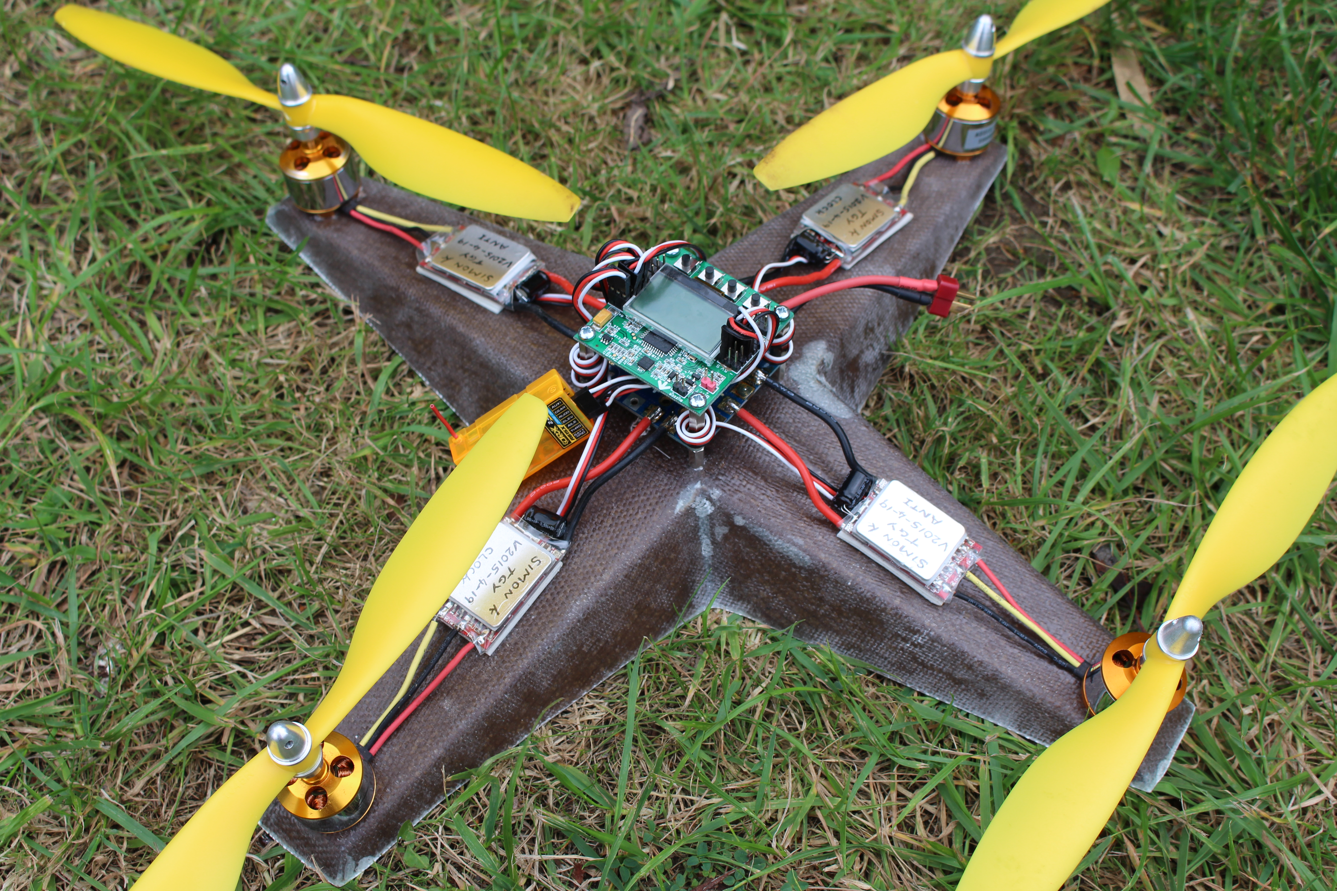 Picture of Cardboard Quadcopter.