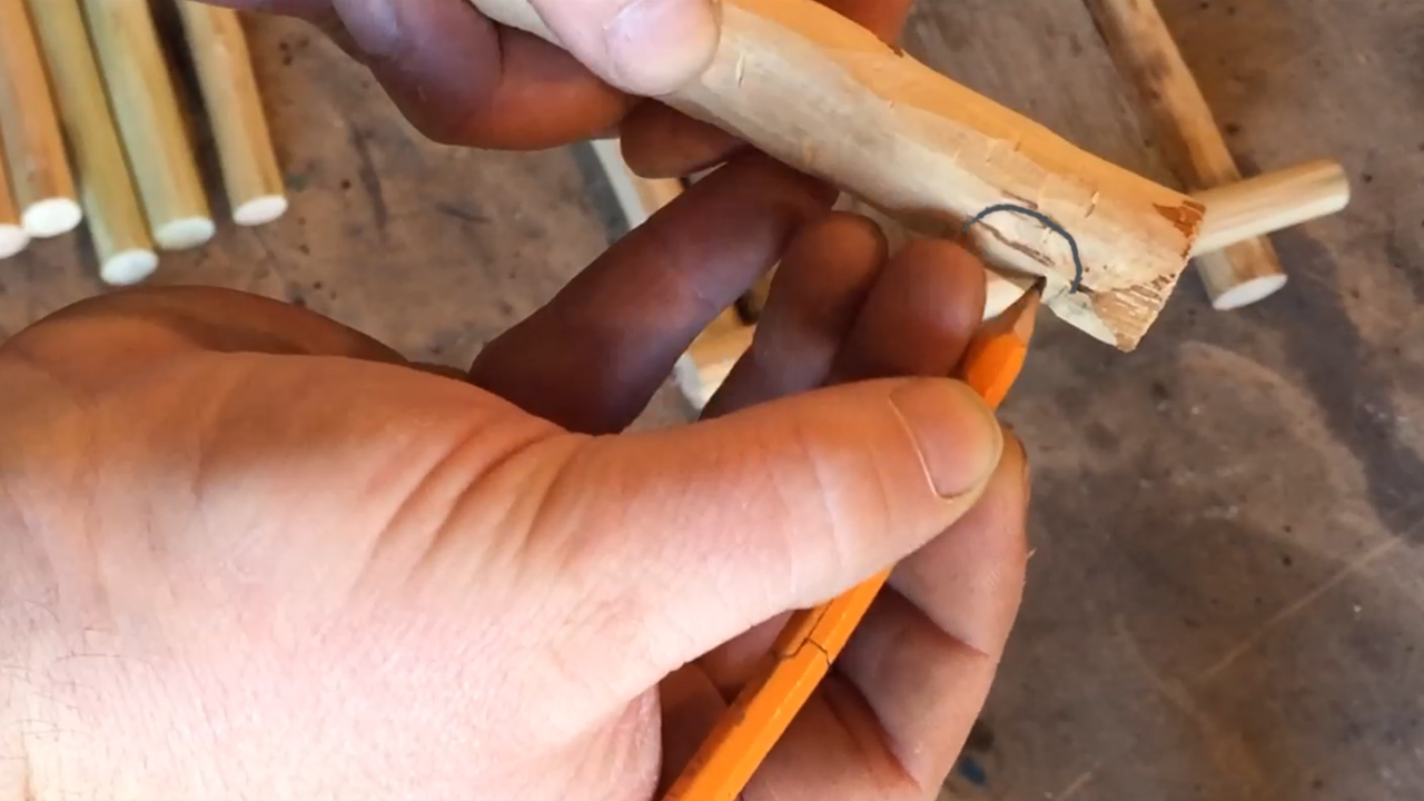 Picture of Cutting the Joints.