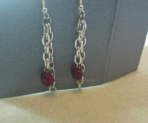 How to Make Chain Earrings